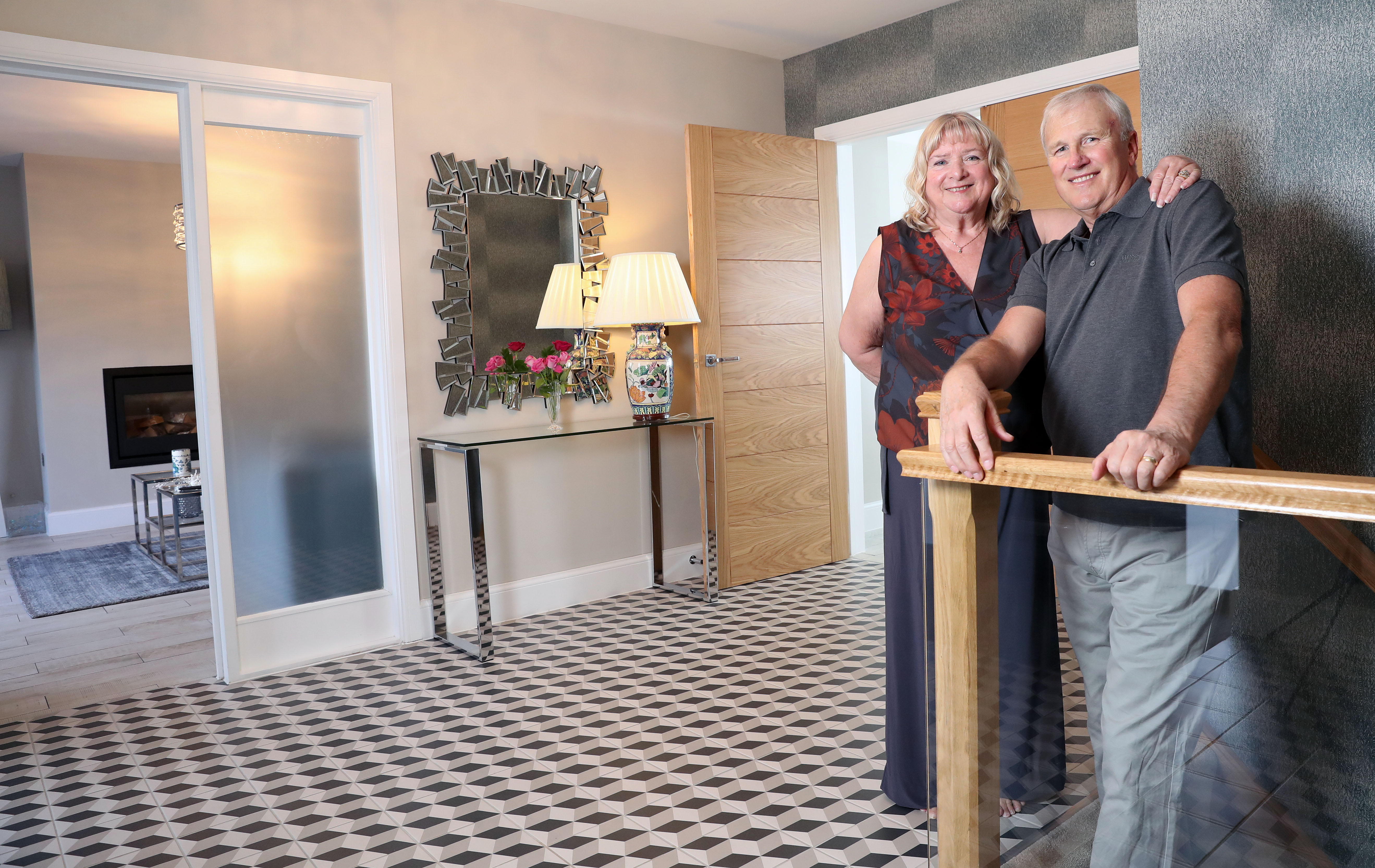 The couple moved back to Wales after more than thirty years in London