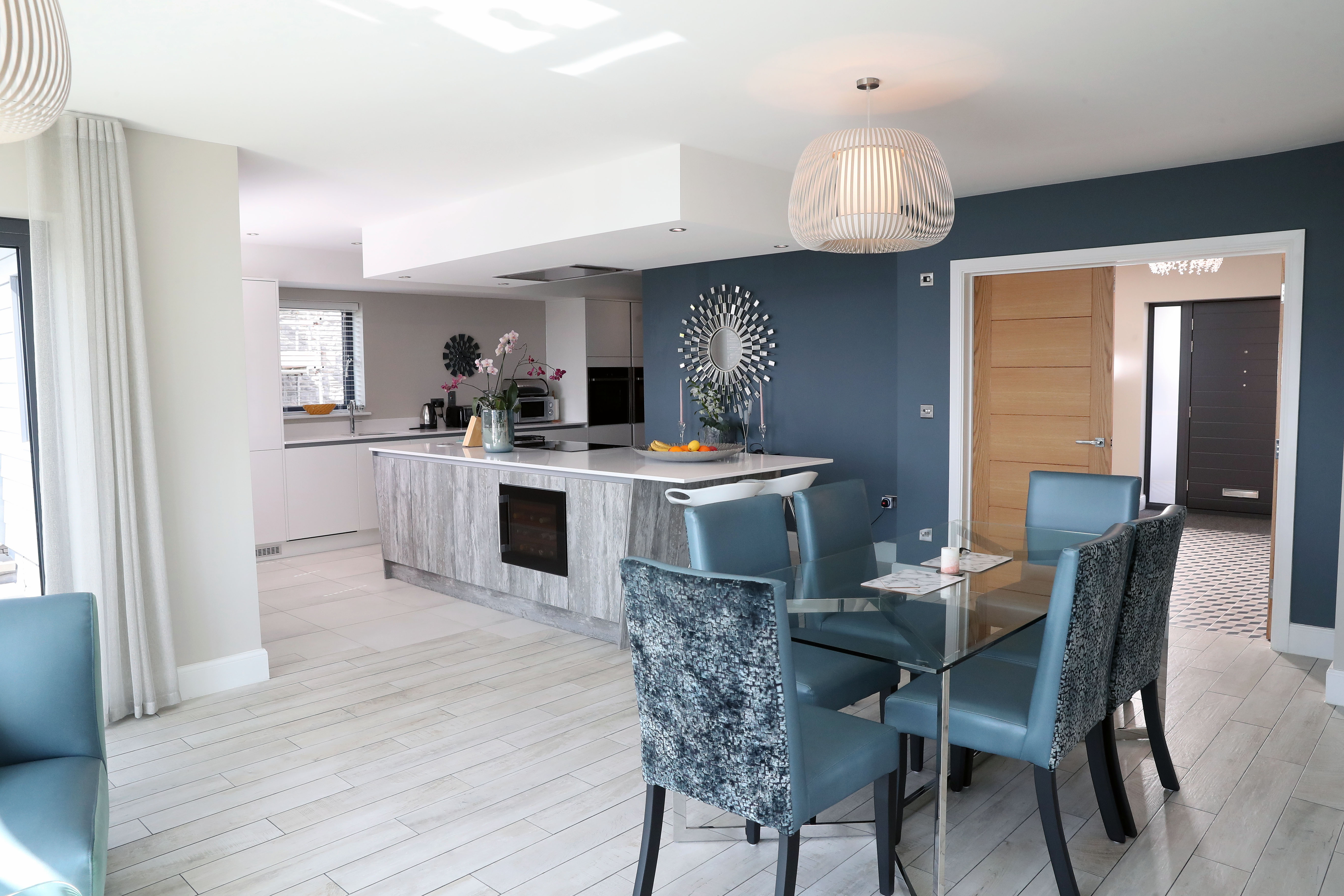 The couple's new home in Ogmore-by-Sea