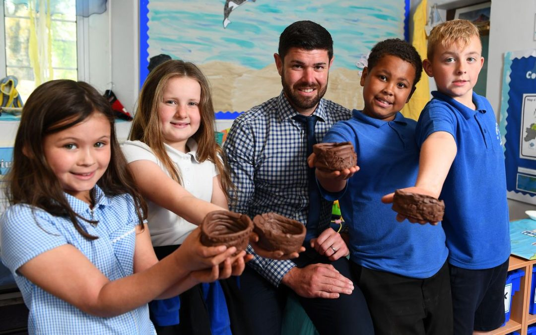 Housebuilder teams up with St Nicholas pupils to creatively shape new development
